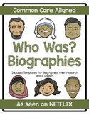 Who Was? Themed Famous Person Biography Project