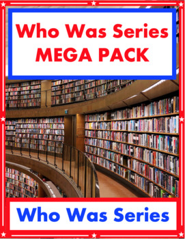 Who Was / What Was / Who Is / What Is Series MEGA PACK