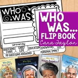 Who Was... (Who Is...) Flip Book - Great for Biography Reports!