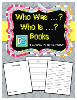 Biography, Autobiography - Who Is? Who Was? Student Books