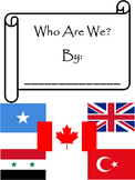 Who We Are Class Book - Editable