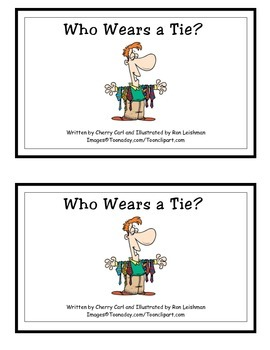 Who Wears a Tie? Guided Reader (-ie Word Family)