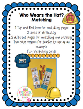 Who Wears the Hat? Craft