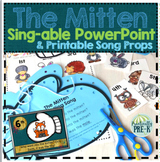 Who Went Into the Mitten? (Sequencing Song Slides With Pri