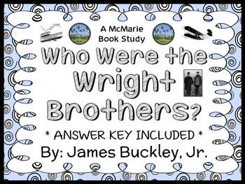 Who Were The Wright Brothers (James Buckley Jr.) Book Study / Comprehension
