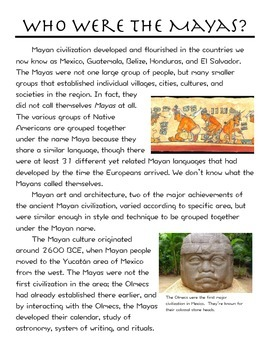 Who Were the Mayas?