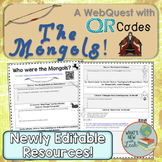 Who Were the Mongols? WebQuest