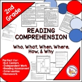 Who, What, When, Where, Why, How, 2nd Grade