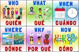Who, What, When, Where, Why, How: Bilingual Spanish/English Poster