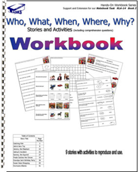 Who, What, When, Where, and Why? Workbook Task