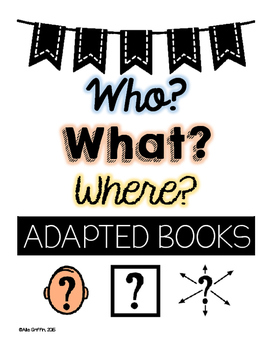 Wh Questions | Adapted Books