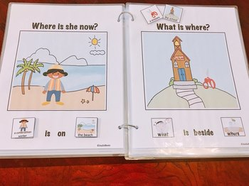 Who, What, Where, Why Interactive Book