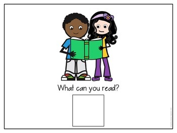 Wh- Questions Interactive Adapted Books