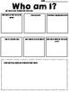 Who/What am I? Fun Math Worksheets || Warm Ups