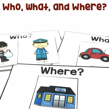 Who, What, and Where? | Create a Story