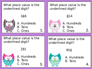 Who Who Knows Their Place Value