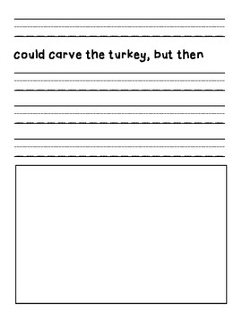 Who Will Carve the Turkey This Thanksgiving? Writing