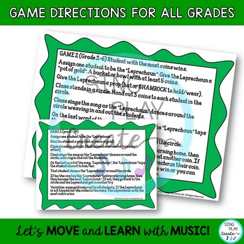 "St. Patrick's Day Game Song ""Who Will Catch the Leprechaun?"" Mp3 Tracks"