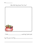 Who Will Help Santa This Year? Writing Extension