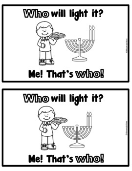 Who Will Light It? and Will You Light It? Emergent Reader (Who and You)