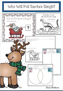 Who Will Pull Santa's Sleigh? Writing Activities