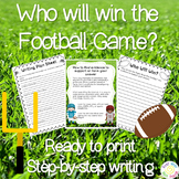 Who Will Win the Big Game? Using Text Evidence in Writing