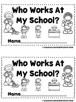 Who Works At My School?  (A Sight Word Emergent Reader)
