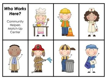 Who Works Here? - First Grade Foresman Reading Street