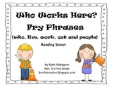 Who Works Here? Fry Phrases Reading Street