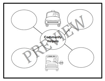 Who Works Here Graphic Organizers and Writing Activities (Reading Street 2.3)