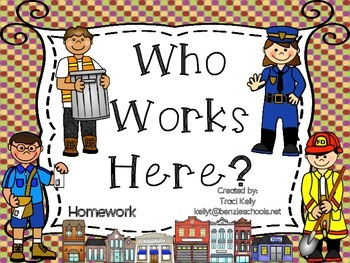 Who Works Here? Homework - Scott Foresman