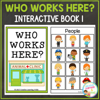 Who Works Here? Interactive Book Bundle Community Helpers