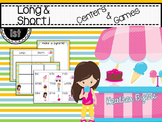Long & short i Centers and Games
