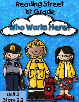 Who Works Here? Reading Street 1st Grade Resource Unit