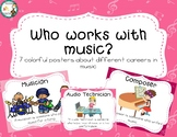 Who Works With Music Posters