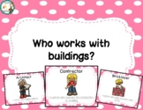 Who Works with Buildings Posters