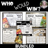Who Would Win ? BUNDLED Printable Distance Learning