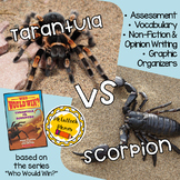 Who Would Win Book Companion- Tarantula Vs. Scorpion
