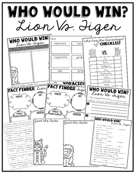 Who Would Win: Lion Vs. Tiger