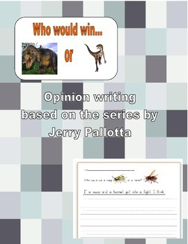 Who Would Win Opinion Writing
