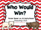Who Would Win? Polar Bear vs. Grizzly Bear Reading Lesson Plan