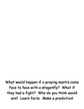 Who Would Win Template Dragon Fly VS Praying Mantis