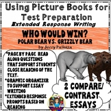 Who Would Win? Test Prep With Picture Books - Compare/Contrast Extended Response