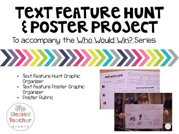 Who Would Win? Text Feature Hunt and Poster