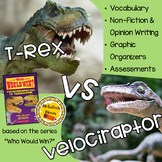 Who Would Win: Tyrannosaurus Rex VS Velociraptor Edition