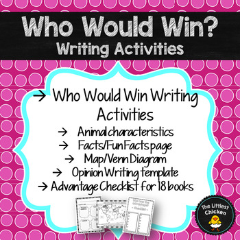 Who Would Win? Writing Activities