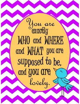 Who You Are Quote - Inspirational