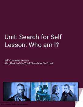 Lesson Plan Who am I? An Exploration of The Self with Les Miserables