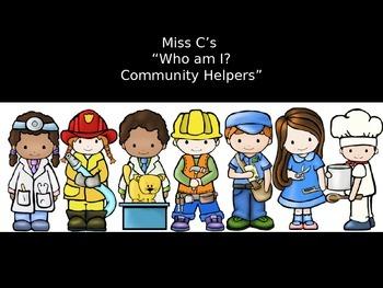 Who am I? (Community Helpers)