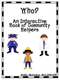 Who an Interactive Book of Community Helpers - Speech & La